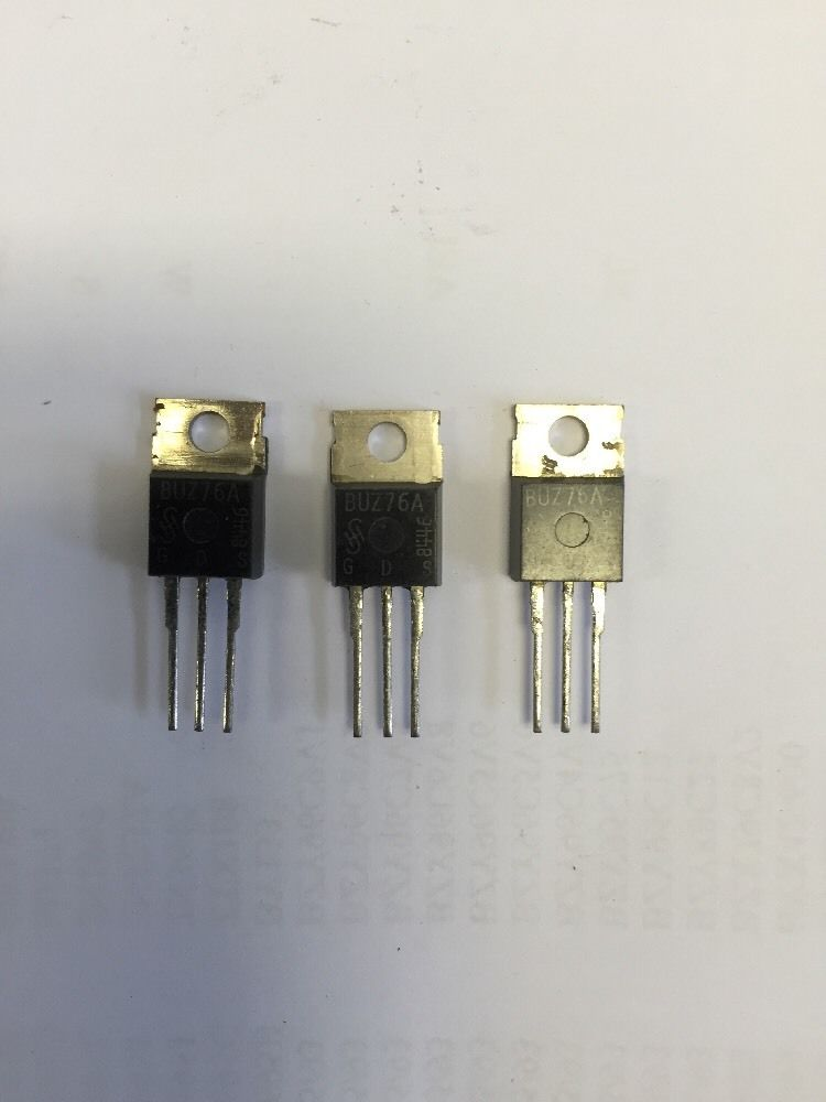 50 Pcs IRF740 TO-220 N-Channel Power MOSFET 400V 10A H9H6