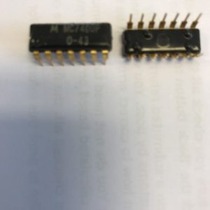 MC7400P-MOTOROLA-GOLD-PIN-INTEGRATED-CIRCUIT-14-PIN-DIL-NEW-1-PIECE-SN7400-262981310917