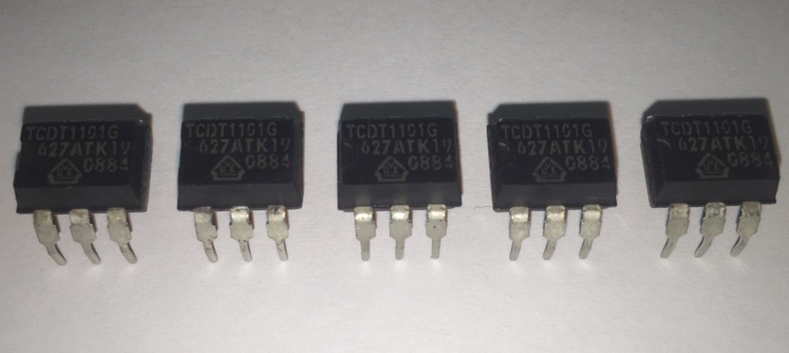 Tcdt1101g Temic Optoisolator Ic Pack Of 5pcs Langrex Circuit Home Other